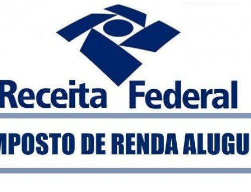 Retenção IRRF no pagamento de aluguel
